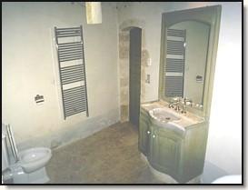 Meuble de salle de bain lavabo en marbre avec miroir for Otto s meuble